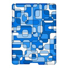 Blue Decorative Abstraction Samsung Galaxy Tab S (10 5 ) Hardshell Case  by Valentinaart