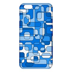 Blue Decorative Abstraction Iphone 6 Plus/6s Plus Tpu Case by Valentinaart