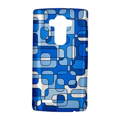 Blue Decorative Abstraction Lg G4 Hardshell Case by Valentinaart
