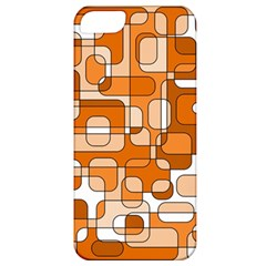 Orange Decorative Abstraction Apple Iphone 5 Classic Hardshell Case by Valentinaart