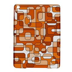 Orange Decorative Abstraction Ipad Air 2 Hardshell Cases by Valentinaart