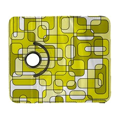 Yellow Decorative Abstraction Samsung Galaxy S  Iii Flip 360 Case by Valentinaart