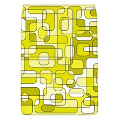Yellow Decorative Abstraction Flap Covers (l)  by Valentinaart