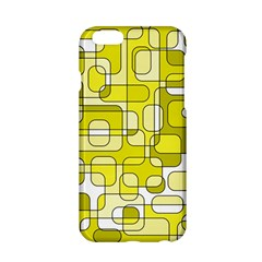 Yellow Decorative Abstraction Apple Iphone 6/6s Hardshell Case by Valentinaart
