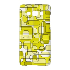 Yellow Decorative Abstraction Samsung Galaxy A5 Hardshell Case  by Valentinaart