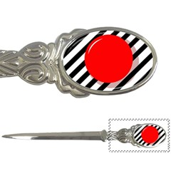 Red Ball Letter Openers by Valentinaart
