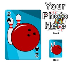 Bowling  Playing Cards 54 Designs  by Valentinaart