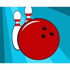 Bowling  Canvas 16  X 20   by Valentinaart