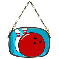 Bowling  Chain Purses (two Sides)  by Valentinaart