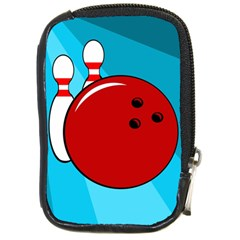 Bowling  Compact Camera Cases by Valentinaart