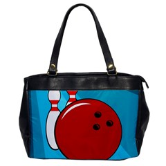 Bowling  Office Handbags by Valentinaart