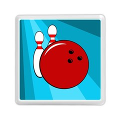 Bowling  Memory Card Reader (square)  by Valentinaart