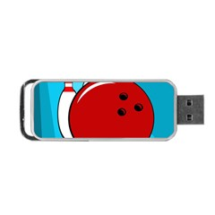 Bowling  Portable Usb Flash (one Side) by Valentinaart