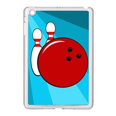 Bowling  Apple Ipad Mini Case (white) by Valentinaart