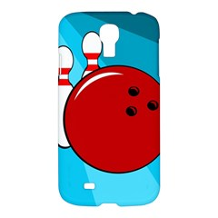 Bowling  Samsung Galaxy S4 I9500/i9505 Hardshell Case by Valentinaart