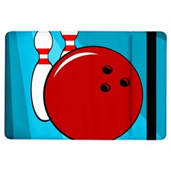 Bowling  Ipad Air Flip by Valentinaart
