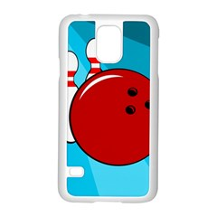 Bowling  Samsung Galaxy S5 Case (white) by Valentinaart