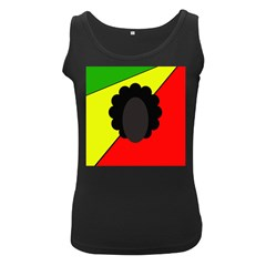 Jamaica Women s Black Tank Top by Valentinaart