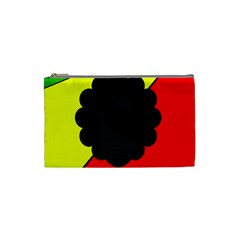 Jamaica Cosmetic Bag (small)  by Valentinaart