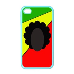 Jamaica Apple Iphone 4 Case (color) by Valentinaart