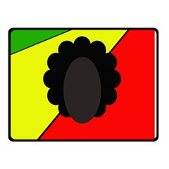 Jamaica Double Sided Fleece Blanket (small)  by Valentinaart