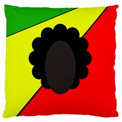 Jamaica Standard Flano Cushion Case (one Side) by Valentinaart