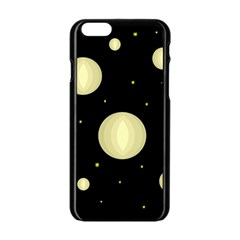 Lanterns Apple Iphone 6/6s Black Enamel Case by Valentinaart