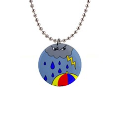 Rainy Day Button Necklaces by Valentinaart
