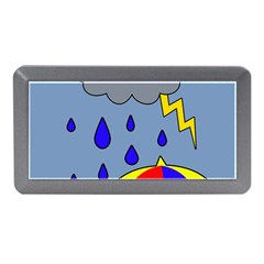 Rainy Day Memory Card Reader (mini) by Valentinaart