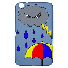 Rainy Day Samsung Galaxy Tab 3 (8 ) T3100 Hardshell Case  by Valentinaart