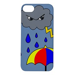 Rainy Day Apple Iphone 5s/ Se Hardshell Case by Valentinaart