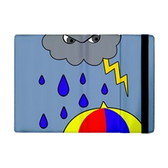 Rainy Day Ipad Mini 2 Flip Cases by Valentinaart