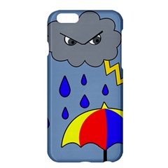 Rainy Day Apple Iphone 6 Plus/6s Plus Hardshell Case by Valentinaart