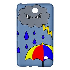 Rainy Day Samsung Galaxy Tab 4 (7 ) Hardshell Case  by Valentinaart