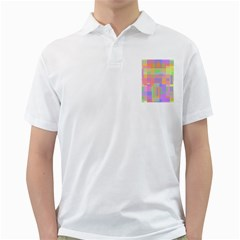 Pastel Decorative Design Golf Shirts by Valentinaart