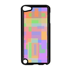 Pastel Decorative Design Apple Ipod Touch 5 Case (black) by Valentinaart