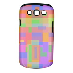 Pastel Decorative Design Samsung Galaxy S Iii Classic Hardshell Case (pc+silicone) by Valentinaart