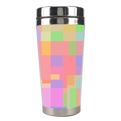 Pastel Decorative Design Stainless Steel Travel Tumblers by Valentinaart