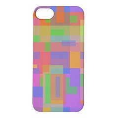Pastel Decorative Design Apple Iphone 5s/ Se Hardshell Case