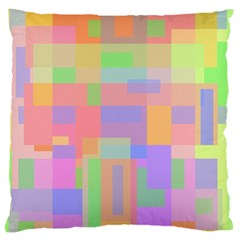 Pastel Decorative Design Standard Flano Cushion Case (two Sides) by Valentinaart