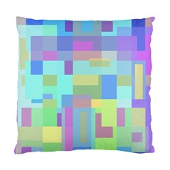 Pastel Geometrical Desing Standard Cushion Case (one Side) by Valentinaart