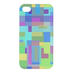 Pastel Geometrical Desing Apple Iphone 4/4s Hardshell Case by Valentinaart