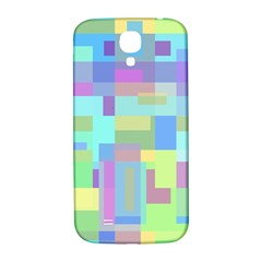 Pastel Geometrical Desing Samsung Galaxy S4 I9500/i9505  Hardshell Back Case by Valentinaart