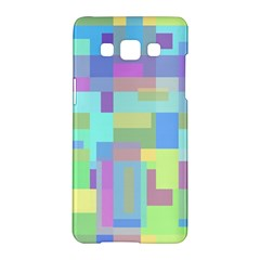 Pastel Geometrical Desing Samsung Galaxy A5 Hardshell Case  by Valentinaart