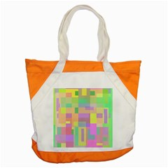 Pastel Colorful Design Accent Tote Bag by Valentinaart
