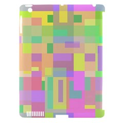 Pastel Colorful Design Apple Ipad 3/4 Hardshell Case (compatible With Smart Cover) by Valentinaart