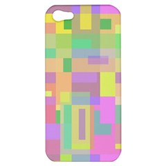 Pastel Colorful Design Apple Iphone 5 Hardshell Case by Valentinaart
