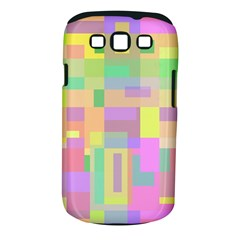 Pastel Colorful Design Samsung Galaxy S Iii Classic Hardshell Case (pc+silicone) by Valentinaart