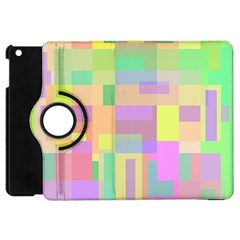 Pastel Colorful Design Apple Ipad Mini Flip 360 Case by Valentinaart