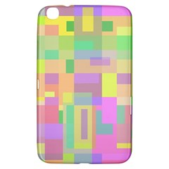 Pastel Colorful Design Samsung Galaxy Tab 3 (8 ) T3100 Hardshell Case  by Valentinaart